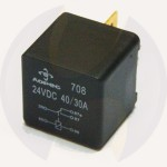 Control current relay NO/NC 24V. 40/30A.