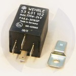 Control blink relay 24V. 4 pins Wehrle