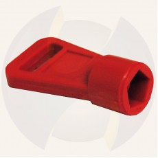 Key for control box 5 sides red